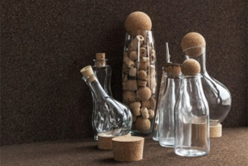 Bouchons de bouteilles en liège